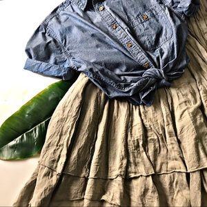 🆕 Lapis Flowy skirt